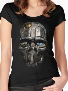 Dishonoured 2 - Corvo Attano (Dishonored 2) Women's Fitted Scoop T-Shirt