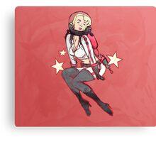 Nuka Pin-up Rocket Girl Canvas Print