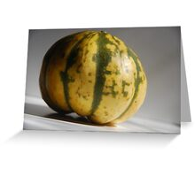 Petite Pumpkin Greeting Card