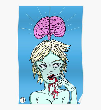 Brains on the Brain Poster