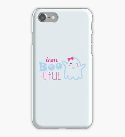 halloween i'm BOO - tiful cute iPhone Case/Skin