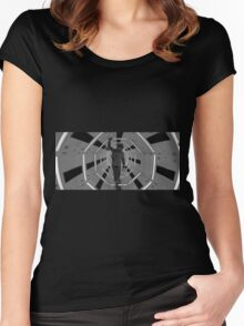 2001 a space odyssey IV Women's Fitted Scoop T-Shirt