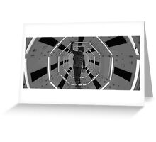 2001 a space odyssey IV Greeting Card