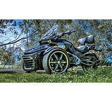 Ride on 3 Wheels Photographic Print