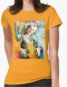 MM 126 yellow Womens Fitted T-Shirt