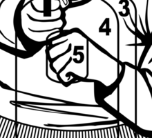 762Ballistic Target - The Thug Sticker
