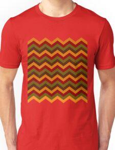 Fall Chevron Lines Unisex T-Shirt