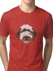 Bentley the Labradoodle Tri-blend T-Shirt
