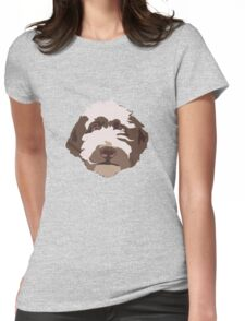 Bentley the Labradoodle Womens Fitted T-Shirt