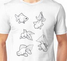 Misc. Fancy Goldfish Unisex T-Shirt
