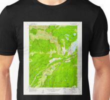 USGS TOPO Map California CA Blue Canyon 288500 1955 24000 geo Unisex T-Shirt