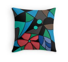 Abstract pattern Mosaic . Throw Pillow