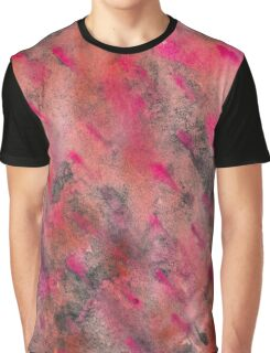 Pink Dab Graphic T-Shirt