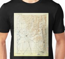 USGS TOPO Map California CA Chico 299273 1895 125000 geo Unisex T-Shirt