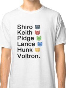 Team Voltron & Classic T-Shirt