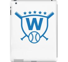 Fly The W Raise The Flag Cubs Playoffs Championship iPad Case/Skin