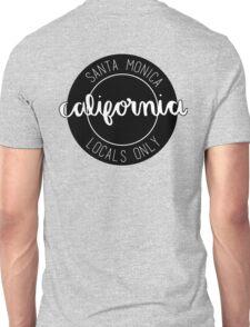 santa monica locals only Unisex T-Shirt