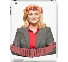 Leslie Knope - Queen Leslie iPad Case/Skin