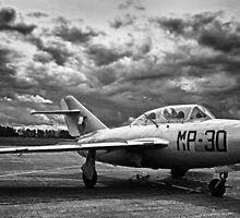 MiG-15 UTI (Black&White) by jnmayer