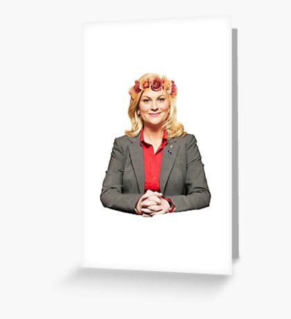 Leslie Knope Greeting Card