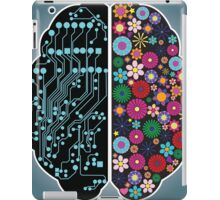 Left and right brain iPad Case/Skin