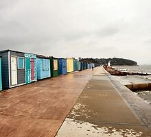 Wet and windy seaside. by ronsaunders47