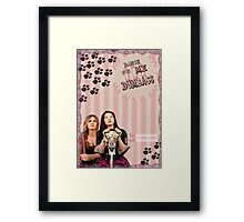 My Teenwolfed Valentine [Dance With Me, Dumbass] Framed Print
