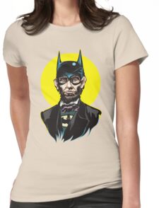 Caped Emancipator Womens Fitted T-Shirt