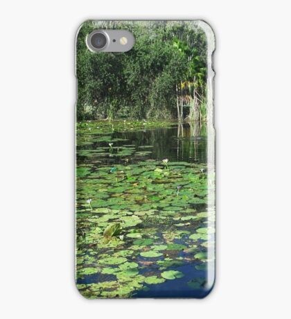 From a rubbish dump to a little bit of paradise iPhone Case/Skin