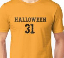 Orange Halloween Jersey Unisex T-Shirt