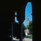 View from steps of C10 Basilica Santa Fosca Torcello Venice Italy 19840730 0026 by Fred Mitchell