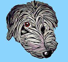 Cheeky lurcher pup by rayemond