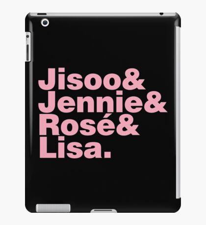 BLACKPINK in Helvetica iPad Case/Skin