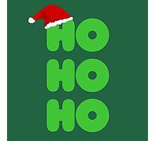 Ho Ho Ho Christmas Photographic Print