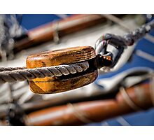 The Pulley Photographic Print