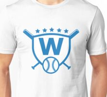 Fly The W Raise The Flag Cubs Playoffs Championship Unisex T-Shirt
