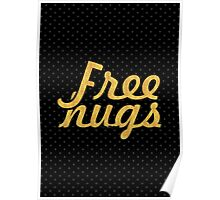 Free Hugs - Making of relation quote Poster