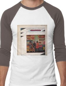 Bucket O' Grease, Funky Soul Jazz lp Men's Baseball ¾ T-Shirt