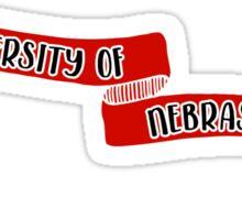 University of Nebraska - Style 8 Sticker