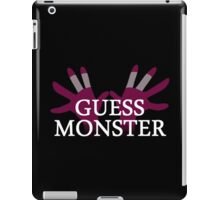 GUESS MONSTER iPad Case/Skin