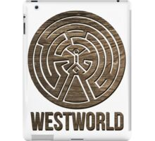 Westworld Maze Man in Black iPad Case/Skin