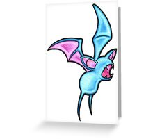 Zubat Flying Greeting Card