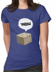 Warren Graham - Meow Box Womens Fitted T-Shirt