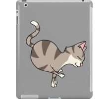 Funny Cat Yoga Positions Hatha Yogis Gift T-Shirt iPad Case/Skin