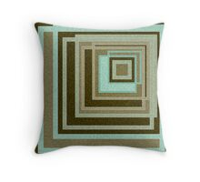 Abstraction . Geometric shapes . Throw Pillow