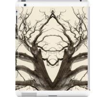 Tree Abstract in Brown iPad Case/Skin