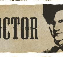 The Hunters, The Doctor and The Detective (Matt Smith version)  Sticker
