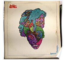 Love, Forever Changes, Psych, Psychedelic Rock lp Poster
