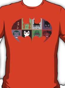 Bat Villains T-Shirt