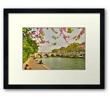 So Much Beauty In Paris .. It's In Seine Framed Print